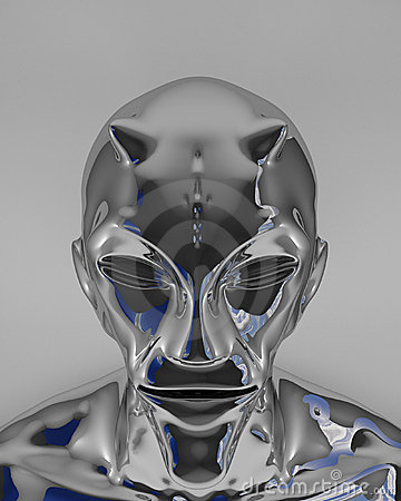Image result for silver shiny alien