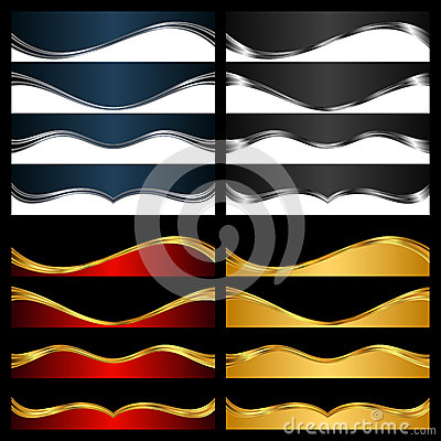 Free Silver And Gold Elements For Abstract Background Royalty Free Stock Photography - 34937417