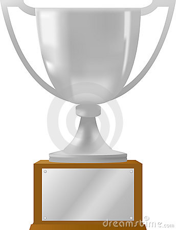 Silver Award Trophy/ai