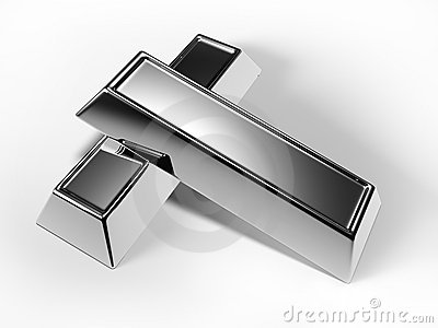 Silver Bars Royalty Free Stock Images - Image: 11928289