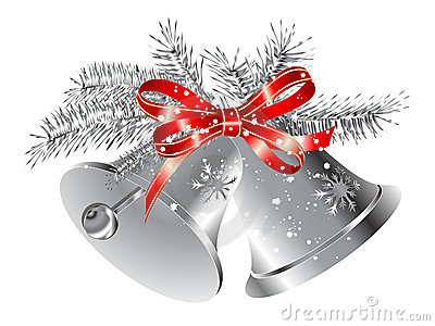 Silver Bells Clipart Extraordinary Silver Bells Christmas Decorations