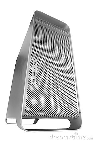 Free Silver BIG Computer Royalty Free Stock Image - 509336