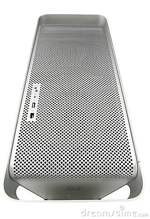 Free Silver BIG Computer Royalty Free Stock Photography - 509337