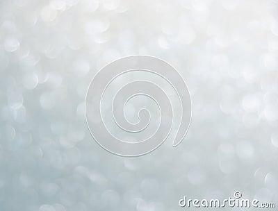 Silver bokeh