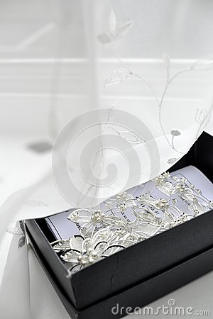 Silver brooch and pins