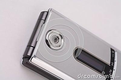 Silver Camera phone