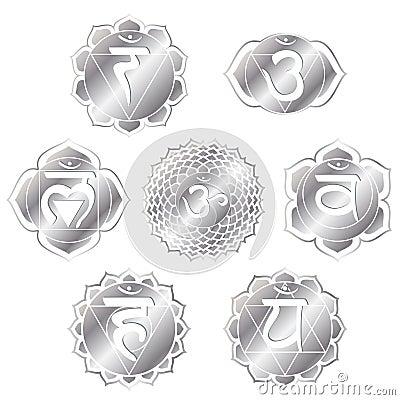 Silver Chakras