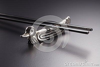 Silver chopsticks