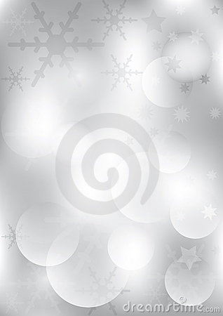 Silver Christmas Backround
