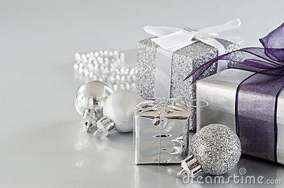 Silver Christmas Gifts