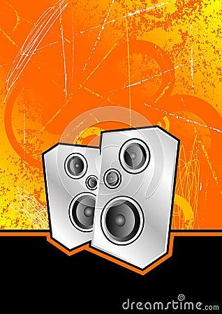 Silver club speakers