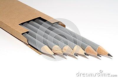 Silver crayons