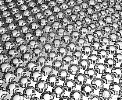Silver dots pattern background