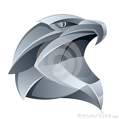 Free Silver Eagle Head Stock Photography - 33266672