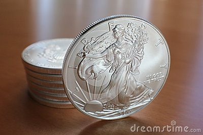 Silver Eagle with Stack