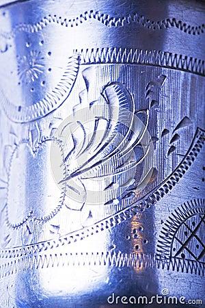 Silver engraving