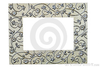 Silver Filigree Picture Frame