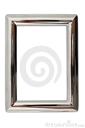 Free Silver Frame Stock Photography - 3439512