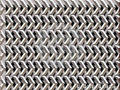 Silver grid / arrows