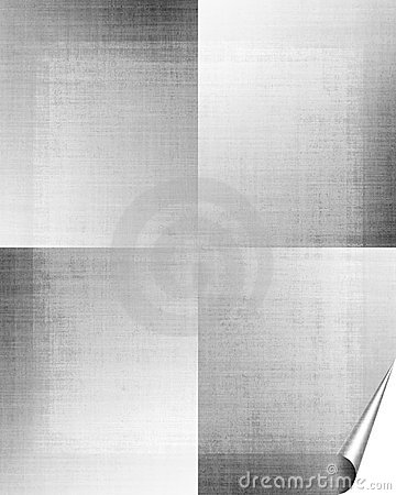 Silver Grunge Paper