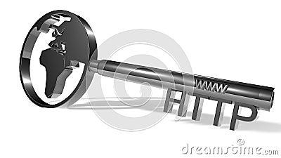 Silver http key