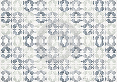 Silver Infinity Circles Seamless Pattern