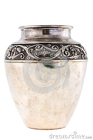 Free Silver Jug Stock Image - 4869781