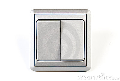 Silver light switch