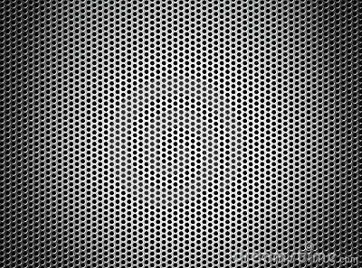 Silver metal grate or grid background