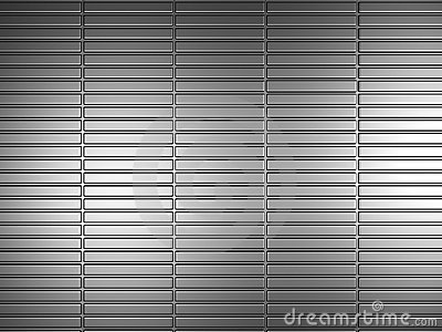 Silver metal pattern