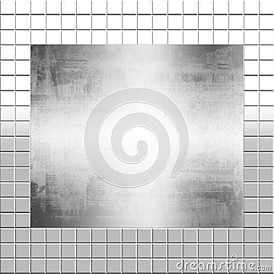 Silver Metal On Tiles