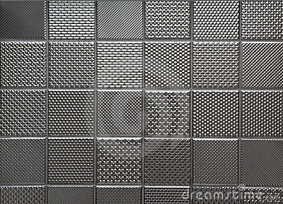 Silver metallic steel background