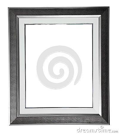 Silver modern frame