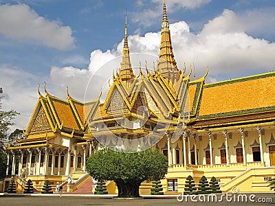 Silver Pagoda - Royal Palace - Phnom Penh