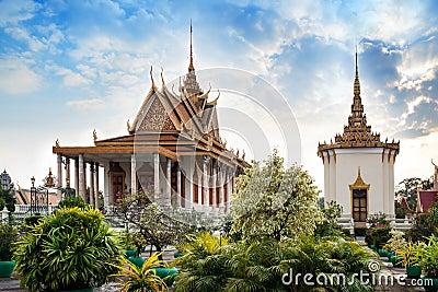 Silver Pagoda,Royal Palace,Phnom Penh,Cambodia