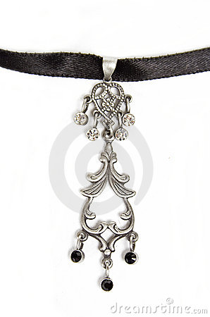 Free Silver Pendent Stock Image - 13072351