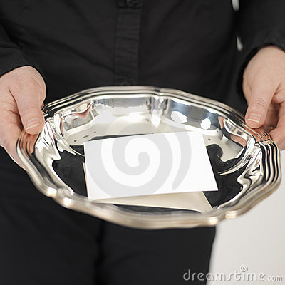 Free Silver Plate Royalty Free Stock Photography - 551317
