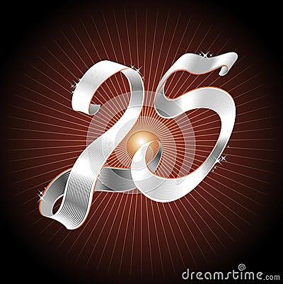 Silver Ribbon 25