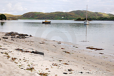 Silver Sands of Morar, Scotland