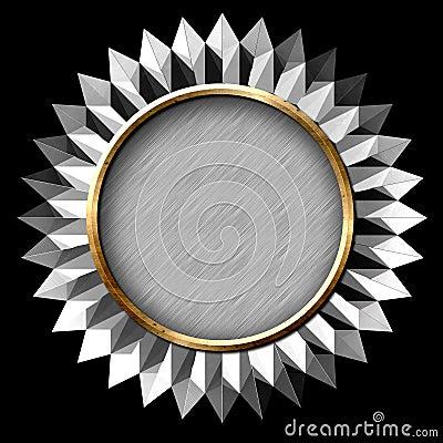 Silver Seal Starburst