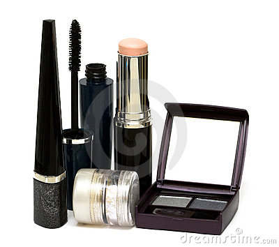 Silver set for make-up