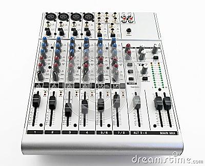 Silver sound mixer