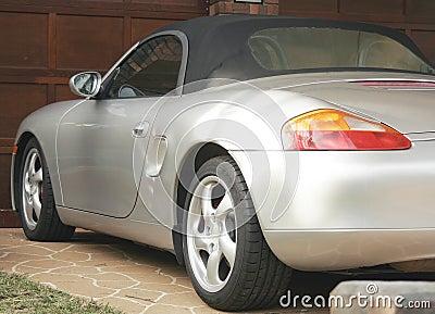 Silver Sports Cabriolet.
