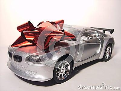 Silver Sports Car Prize