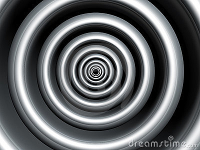 Silver swirl abstract background