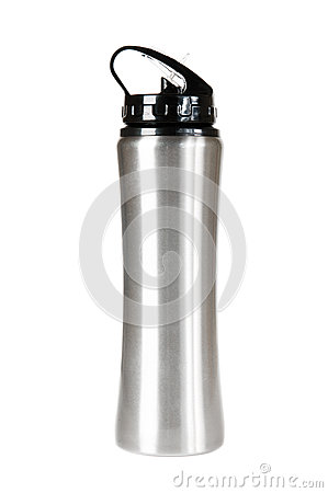 Silver thermos