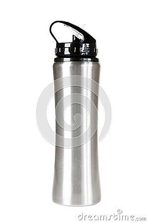 Silver thermos