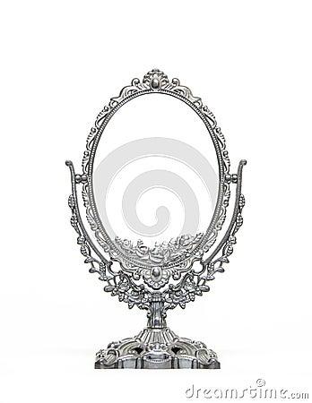 Silver Vintage Mirror ...