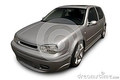Silver Volkswagen