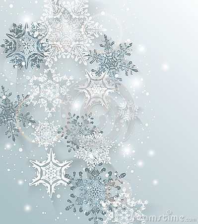 Free Silver Winter Abstract Christmas Background. Royalty Free Stock Image - 47646126
